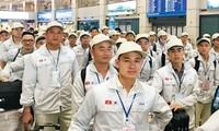 แรงงานเวียดนามได้รับการชื่นชมจากญี่ปุ่น