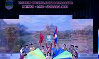 ปิดค่ายยุวชนฤดูร้อน 3 ประเทศเวียดนาม ลาวและกัมพูชาปี 2018