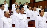 รัฐสภากัมพูชาลงมติรับรองรัฐบาลชุดใหม่ของกัมพูชา