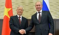 แถลงการณ์ร่วมเกี่ยวกับผลการเยือนรัสเซียอย่างเป็นทางการของเลขาธิการใหญ่พรรคคอมมิวนิสต์เวียดนาม