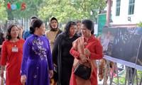 ภริยาของประธานาธิบดีอินโดนีเซีย: พิพิธภัณฑ์สตรีเวียดนามสะท้อนสีสันชีวิตของสตรีเวียดนาม