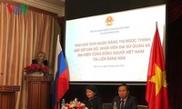 รองประธานประเทศ ดั่งถิหงอกถิ่ง พบปะกับชมรมชาวเวียดนามในรัสเซีย