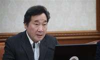 นายกรัฐมนตรีสาธารณรัฐเกาหลีเดินทางมาเวียดนามเพื่อไว้อาลัยประธานประเทศ เจิ่นด่ายกวาง