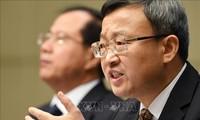 จีนประกาศว่า การเจรจาการค้ากับสหรัฐต้องอาศัยความยุติธรรม