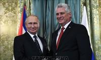 คิวบาและรัสเซียประณามมาตรการคว่ำบาตรแต่เพียงฝ่ายเดียวของสหรัฐ