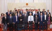 รองประธานสภาแห่งชาติ อวงจูลิว พบปะกับกลุ่มส.ส มิตรภาพเวียดนาม-รัสเซีย