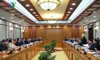 เลขาธิการใหญ่พรรค ประธานประเทศ เหงียนฟู้จ่อง ประชุมที่นครไฮฟอง