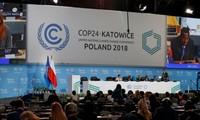 COP 24: ประเทศต่างๆเห็นพ้องกระบวนการปฏิบัติข้อตกลงปารีสเกี่ยวกับการเปลี่ยนแปลงของสภาพภูมิอากาศ