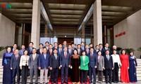 ประธานสภาแห่งชาติ เหงียนถิกิมเงิน ให้การต้อนรับประธานกลุ่มส.ส มิตรภาพสาธารณรัฐเกาหลี