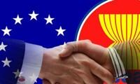 รัฐมนตรีว่าการกระทรวงการต่างประเทศอียู-อาเซียนหารือเกี่ยวกับการผลักดันความร่วมมือ