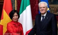 เวียดนามให้ความสนใจเป็นอันดับต้นๆต่อการพัฒนาความสัมพันธ์ร่วมมือในทุกด้านกับอิตาลี