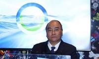 นายกรัฐมนตรีเสนอมาตรการอนุรักษ์สิ่งแวดล้อมทางทะเลในฟอรั่ม WEF ดาวอส 2019