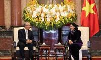 รองประธานประเทศ ดั่งถิหงอกถิ่ง ให้การต้อนรับคณะผู้แทนศาลฎีกาไทย