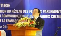 ฮานอยสนับสนุนทุกกิจกรรมการพบปะสังสรรค์พัฒนาความร่วมมือระหว่างกลุ่มประเทศที่ใช้ภาษาฝรั่งเศส