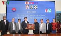 สถานีวิทยุเวียดนามผลักดันความร่วมมือกับกระทรวงสื่อสารกัมพูชา