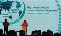 การสนทนาระดับสูงเกี่ยวกับความร่วมมือมหาสมุทรอินเดีย – แปซิฟิก มุ่งสู่ภูมิภาคที่สันติภาพ เจริญรุ่งเรืองและพัฒนาครอบคลุม