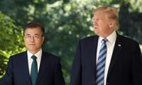 ประธานาธิบดีสาธารณรัฐเกาหลีเยือนสหรัฐ