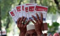 ประชาชนอินโดนีเซียออกไปใช้สิทธิ์เลือกตั้ง