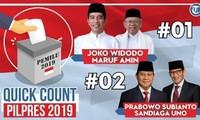 ประธานาธิบดี โจโก วีโดโอ มีคะแนนนำในการเลือกตั้งประธานาธิบดีอินโดนีเซีย 2019