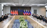 การประชุมสุดยอดสหรัฐ-สาธารณรัฐประชาธิปไตยประชาชนเกาหลี-ผู้นำทั้งสองประเทศชื่นชมผลการเจรจา
