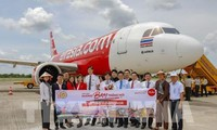 Air Asia เปิดเส้นทางบินตรงนครเกิ่นเทอ-กรุงเทพฯ