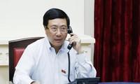 เวียดนามและสิงคโปร์พูดคุยทางโทรศัพท์เกี่ยวกับบทปราศรัยของนายกรัฐมนตรี ลีเซียนลุง