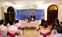 หัวหน้าคณะกรรมการรณรงค์มวลชนส่วนกลาง เจืองถิมาย เยือนสถานทูตเวียดนามในประเทศกาตาร์