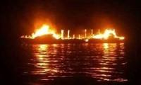 มีผู้เสียชีวิต 4 คนจากเหตุไฟไหม้เรือเฟอร์รีในประเทศอินโดนีเซีย
