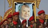Cambodia announces ex-king Norodom Sihanouk's cremation