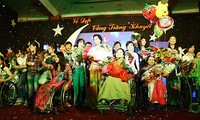 Beauty contest honors disabled people