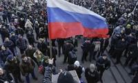 Russia, UK pursue diplomatic solutions to Ukraine's crisis