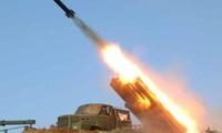 North Korea conducts live-fire drills
