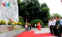 60th anniversary of President Ho's visit to Hung Kings temple marked
