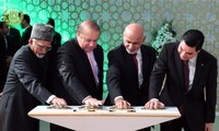 Turkmenistan-South Asia gas pipeline constructed