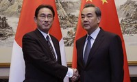 Japanese, Chinese foreign ministers to talk in Laos next week
