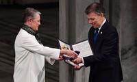 哥总统桑托斯:哥伦比亚和平协议可作为叙利亚、也门和南苏丹冲突的典范