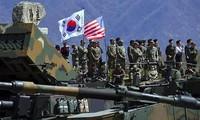 South Korea, US resume military drills