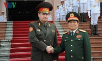 Vietnam, Belarus discuss defense cooperation