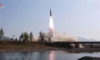 US, Japan, South Korea urges North Korea to act toward denuclearization
