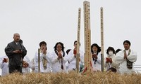 Gedenken an die Tsunami-und Erdbebenopfer in Japan