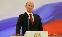 Russischer Präsident Wladimir Putin vereidigt