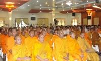 Treffen der Mönche und Würdenträger in der Provinz Bac Lieu