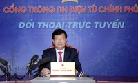 Das Bauministerium führt Online-Dialog durch Internetportal der Regierung