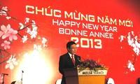 Diplomaten treffen sich zum bevorstehenden Neujahrsfest Tet