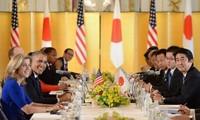 Japan und USA geben gemeinsame Erklärung ab