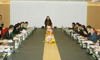 Sitzung der IPU-Organisationsabteilung in Hanoi