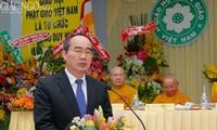 Verstärkung der Solidarität des Buddhismus Vietnams mit dem der anderen Länden