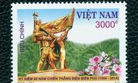 Veröffentlichung einer Briefmarkenserie über Dien Bien Phu Sieg