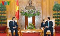 Premierminister Nguyen Tan Dung empfängt chinesischen Staatskommissar Yang Jiechi