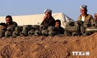 USA hilft Irak bei der Eroberung des Mossul-Damms
